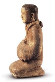 西汉女俑1