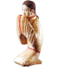 西汉女俑2