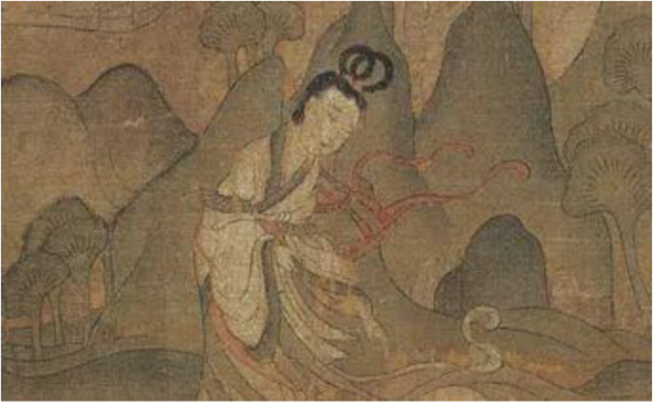 Painting about 400 years after Wang Zhaojun's story