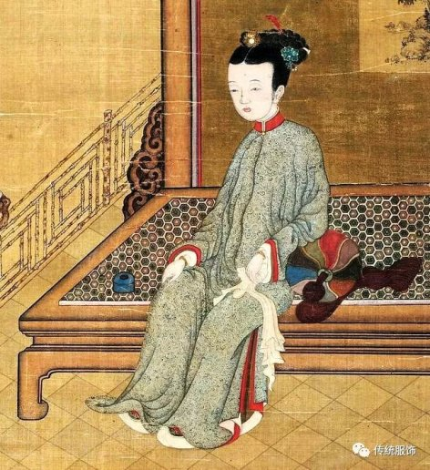 17th century portrait by artist Jiao Bingzhen
