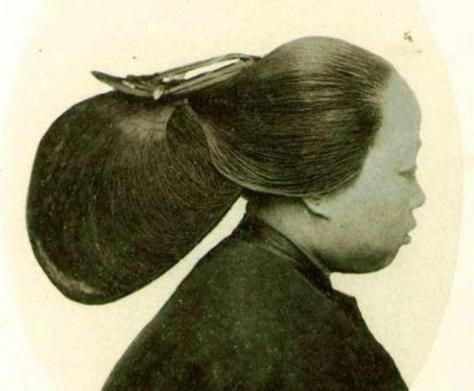late qing hair