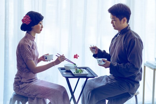"""Mr Ip Man was famously quoted in the movie, """"There's no such thing as man who fears his wife. Only a man who respects his wife."""" 叶问: 没有怕老婆的男人,只有尊重老婆的男人。"""
