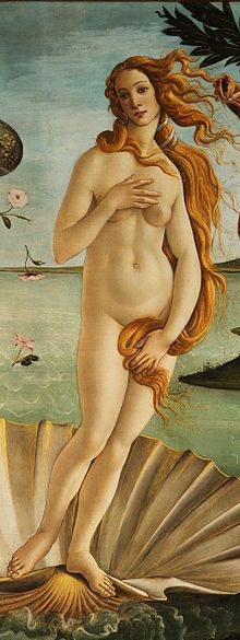 The_Birth_of_Venus_detail_-_Venus