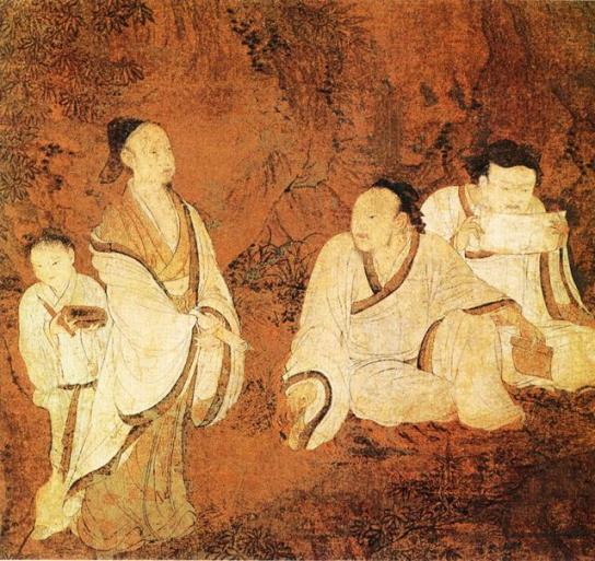 weijin era white robe1
